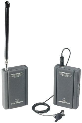 Audio-Technica PRO 88W R35 Wireless System with ATR3350MW Omni Lapel Microphone PRO88W-R35