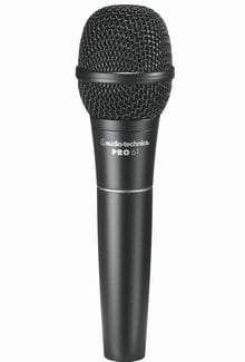 Audio-Technica PRO 61 Hypercardioid Dynamic Microphone with 15 ft XLR Cable PRO61