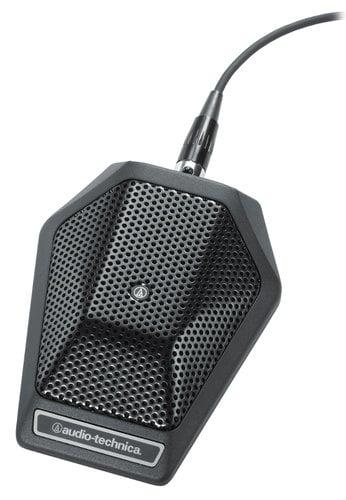 Audio-Technica U851R Cardioid Condenser Boundary Microphone, Non-Power Module Model U851R