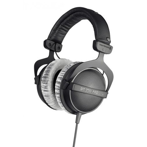Beyerdynamic DT 770 Pro 250 Dynamic Closed Back Headphones with 250 Ohm Drivers DT770-PRO-250
