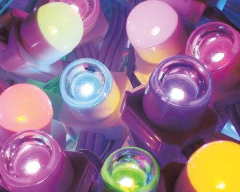 "Philips Color Kinetics 101-000068-03 iColor Flex MX LED Strand Lights with Translucent Domes. Black Housing, 12"" On-Center Node Spacing 101-000068-03"