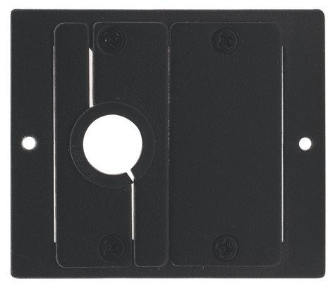 Kramer T-2INSERT  TBUS Bracket to Install 2 Inserts in a Power Socket Opening T-2INSERT