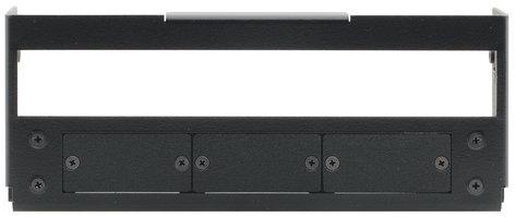 Kramer T6F-03M  Inner Frame for TBUS-6XL (3 Insert Slots, 1 Slot for Kramer MegaTOOL) T6F-03M