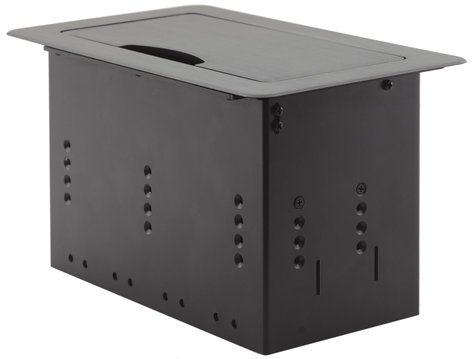 Kramer TBUS-4XL  Table Mount Modular Multi-Connection Solution - Tilt-Up Lid TBUS-4XL