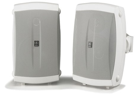 Yamaha NS-AW150W 2 Way Outdoor Speakers, Pair, White NS-AW150W