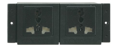 Kramer TS-2US  TBUS Dual Power Socket - USA TS-2US