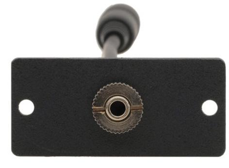 Kramer WA-1PN  Wall Plate Insert - 3.5mm Stereo Audio WA-1PN