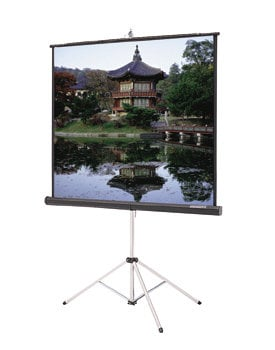 "Da-Lite 36470  50"" x 67"" Picture King® Portable Tripod Projection Screen, High Contrast Matte White 36470"