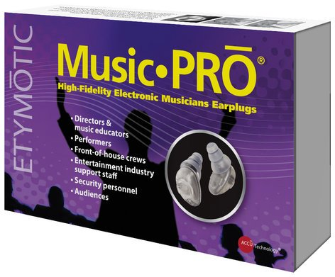 Etymotic Research Inc ER125-MP9-15BN Music•PRO High-Fidelity Electronic Musicians Earplugs ER125-MP9-15