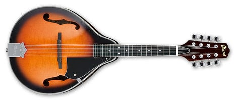 Ibanez M510BS Mandolin in Brown Sunburst Finish with Rosewood Fingerboard M510BS