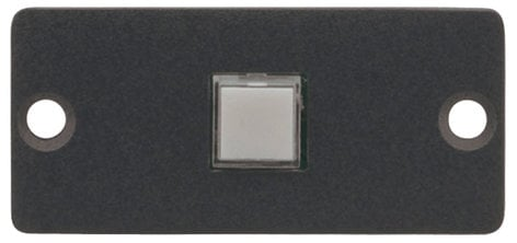 Kramer RC-10TB  Wall Plate Insert - 1-Button Contact Closure Switch RC-10TB