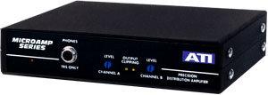 Audio Technologies DA2008-1 Distribution Amplifier, 1 x 4 DA2008-1