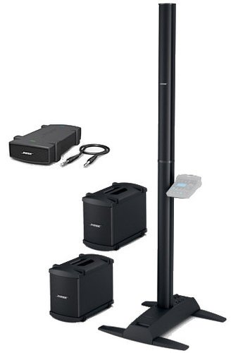 Bose L1 Model 2 System with 2 B2 Bass Modules, A1 Packlite Amp Portable PA System L1-II-DBL-B2-A1