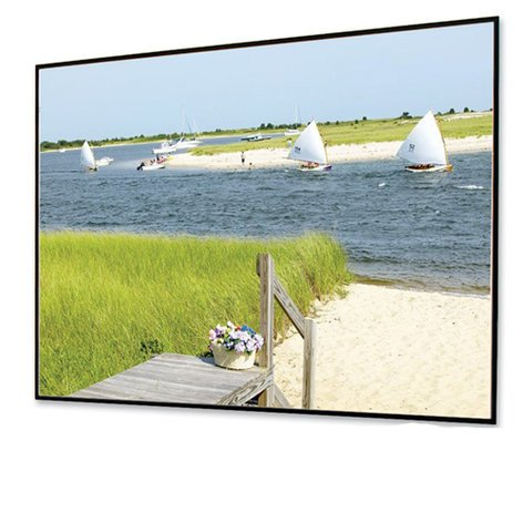 """Draper Shade and Screen 252012  100"""" NTSC Clarion Projection Screen, Matte White 252012"""