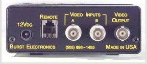 Burst Electronics VMF-2 2-Ch Video Mixer/Fader, with Fade to Black VMF-2
