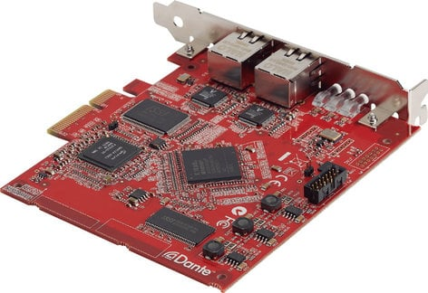 Yamaha Dante Accelerator AIC128 Nuage Digital High Speed Interface AIC128-D