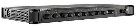 Shure SCM820-DAN-DB25 8 Ch Intellimix Mixer with DB25 & Dante SCM820-DAN-DB25