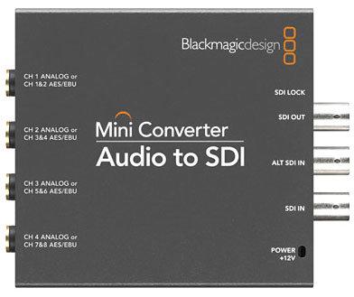 Blackmagic Design CONVMCSAUD SDI to Audio Mini Converter CONVMCSAUD