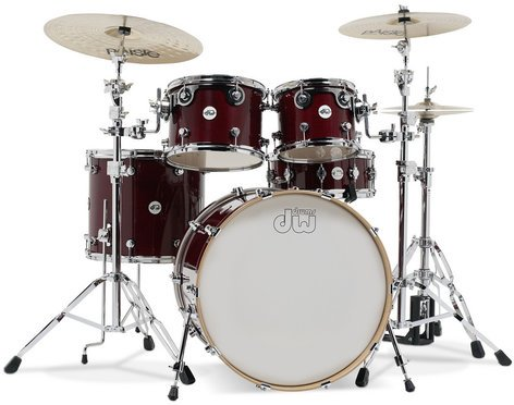 DW DDLG2215CS Design Series 5 Piece Shell Pack in Cherry Stain Finish DDLG2215CS