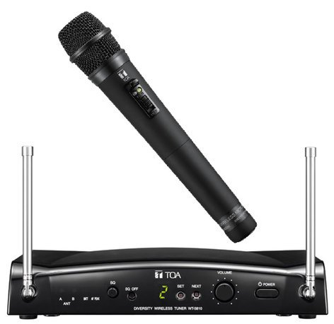 TOA WS5225 Wireless Handheld Condenser Microphone System WS5225