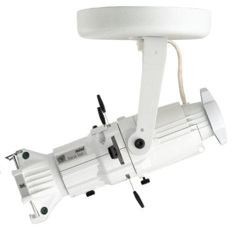 ETC/Elec Theatre Controls 4M26-I Source Four Mini with Canopy-Mount in Black, 26° Lens 4M26-I