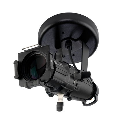 ETC/Elec Theatre Controls 4M50-I Source Four Mini with Canopy Mount in Black, 50° Lens 4M50-I
