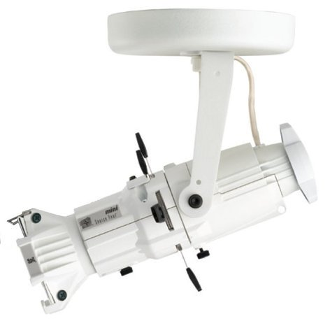 ETC/Elec Theatre Controls 4M26-1I Source Four Mini with Canopy-Mount in White, 26° Lens 4M26-I-1