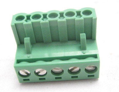 BTX Technologies CD-1757048 Combicon Series 5-Contact Phoenix Connector with Screw Terminated Plug - 5.08mm Pitch CD-1757048
