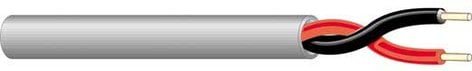 West Penn 25225B-1000 1000 ft. of 2-Conductor 16GA Plenum Cable 25225B-1000