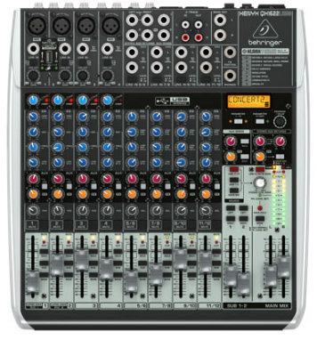 Behringer QX1622USB  16-Ch 2/2Bus USB Mixer, with Klark Teknik FX QX1622USB