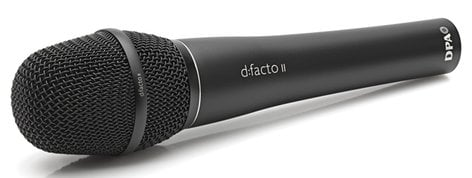 DPA Microphones FA4018VDPAB d:facto™ Supercardioid Handheld Microphone with DPA adapter FA4018VDPAB