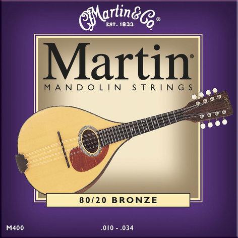 Martin Strings M400 Light Mandolin Strings M400-MARTIN