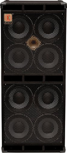 "Eden Amplification D810XT 1700W 4-Ohm 8x10"" Bass Speaker Cabinet D810XT"