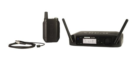 Shure GLXD14/93 Wireless System with WL93 Subminiature Lavalier Microphone GLXD14/93
