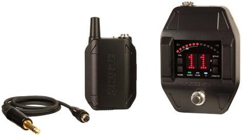 Shure GLXD16 GLX-D Series Digital Wireless Guitar/Bass Pedal System GLXD16