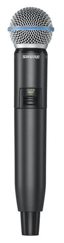 Shure GLXD2/B58 Wireless Handheld Transmitter with Beta 58 Capsule GLXD2/B58