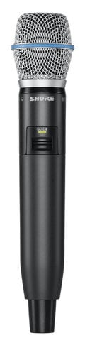 Shure GLXD2/B87A Handheld Transmitter with the Beta 87A Capsule GLXD2/B87A