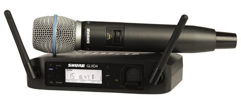 Shure GLXD24/B87A Wireless System with Beta87A Capsule GLXD24/B87A