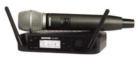 Shure GLXD24/SM86 Wireless System with the SM86 Handheld Transmitter GLXD24/SM86