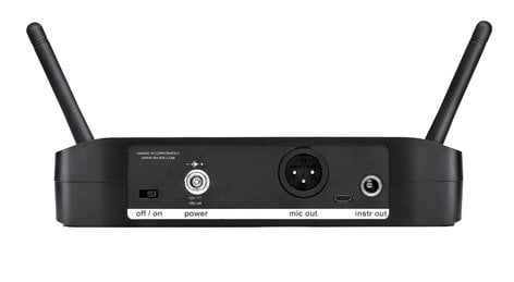 Shure GLXD4 Single-Channel Digital Wireless Receiver with Automatic Frequency Management GLXD4