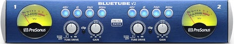 PreSonus BLUETUBE-DP-V2-EDU BlueTube DP v2 [EDUCATIONAL PRICING] Dual-Path Mic/Instrument Tube Preamplifier BLUETUBE-DP-V2-EDU