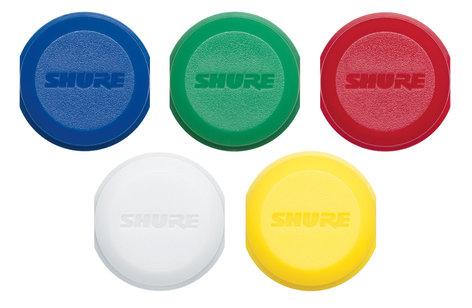 Shure WA621 Color ID Caps for Transmitters WA621