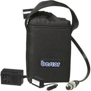 Bescor LA145ATM 14V SLA Battery Belt with Charger and 6' 4-pin XLR Cable LA145ATM