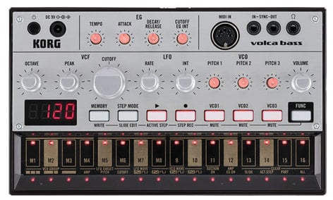 Korg Volca Bass Analog Bass Synthesizer VOLCABASS