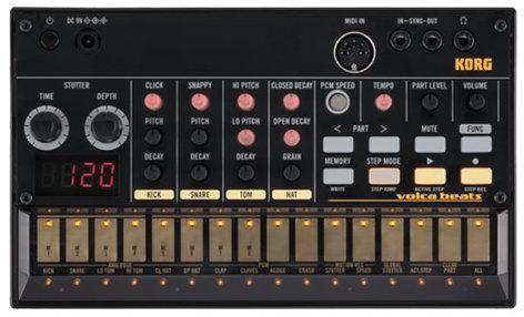 Korg Volca Beats Analog Rhythm Machine VOLCABEATS