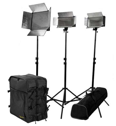 ikan Corporation IDK2511-V2 Small Location Light Kit IDK2511-V2