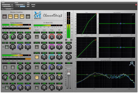 Metric Halo ChannelStrip 3 Signal Processing Bundle for Pro Tools™ 10 AU/AAX (Electronic Delivery) CS3-AAX-1