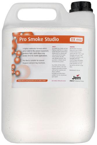 Martin Professional Pro Smoke Studio (DX Mix) 5L (1 Gallon) Lighter Density Fog Machine Fluid PROSMOKE-STUDIO-5L