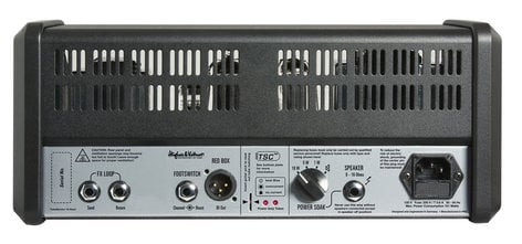 Hughes & Kettner TubeMeister 18 Head 18W 2-Channel Tube Guitar Amplifier Head with Onboard Red Box Output TM18H