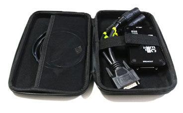 Enttec 70317 Zip Case for PRO2 DMX & USB Cable 70317